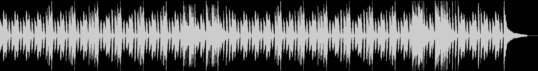 ほのぼの日常系ピアノソロの未再生の波形