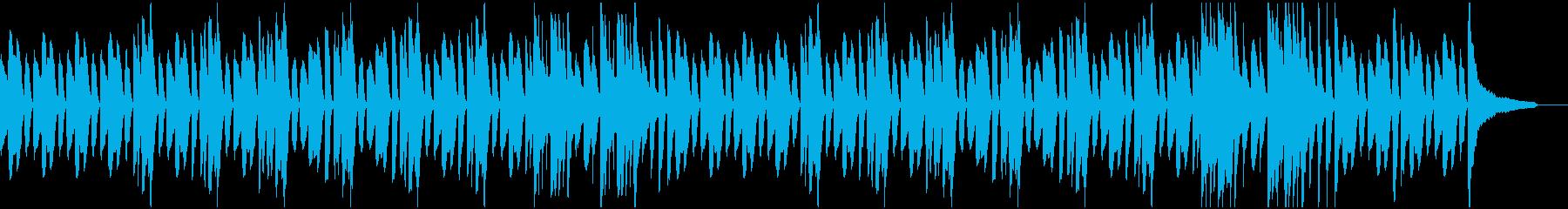 ほのぼの日常系ピアノソロの再生済みの波形