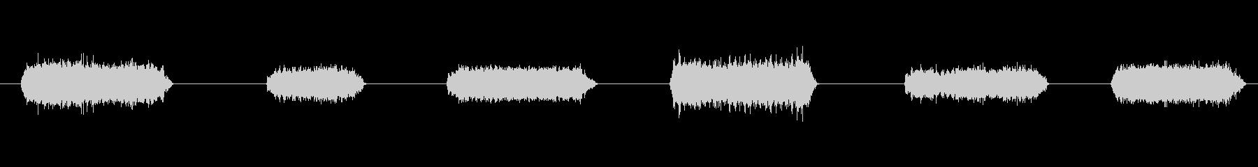 1986リンカーンタウンカー:パワ...の未再生の波形
