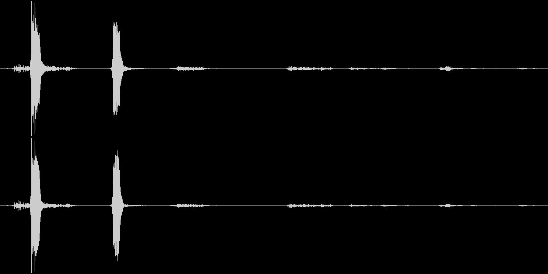 犬 バルディーノミックスバークグロ...の未再生の波形