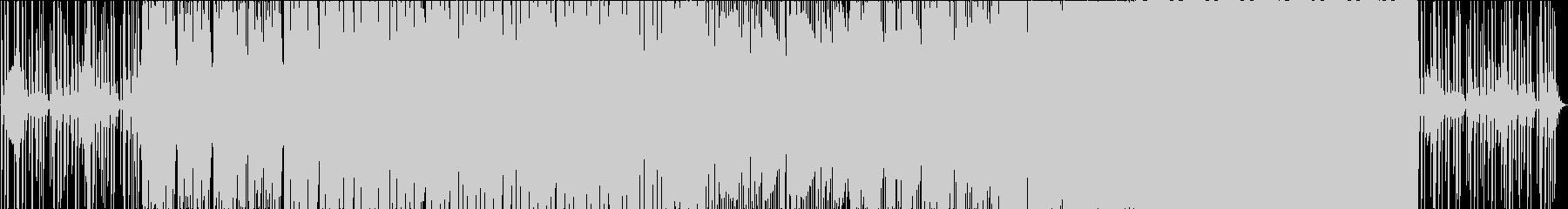 トロピカルな雰囲気のEDMの未再生の波形