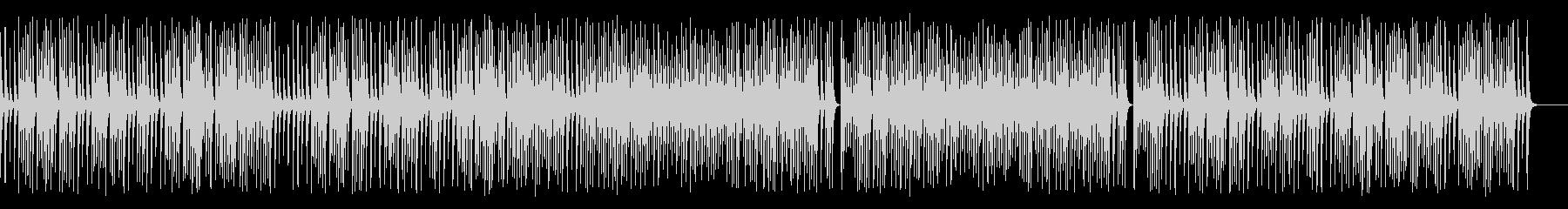 木琴がコロコロ可愛いジャズの名曲の未再生の波形