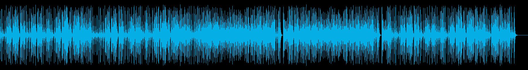 木琴がコロコロ可愛いジャズの名曲の再生済みの波形