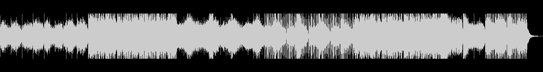 フルートによるノスタルジックなメロディの未再生の波形