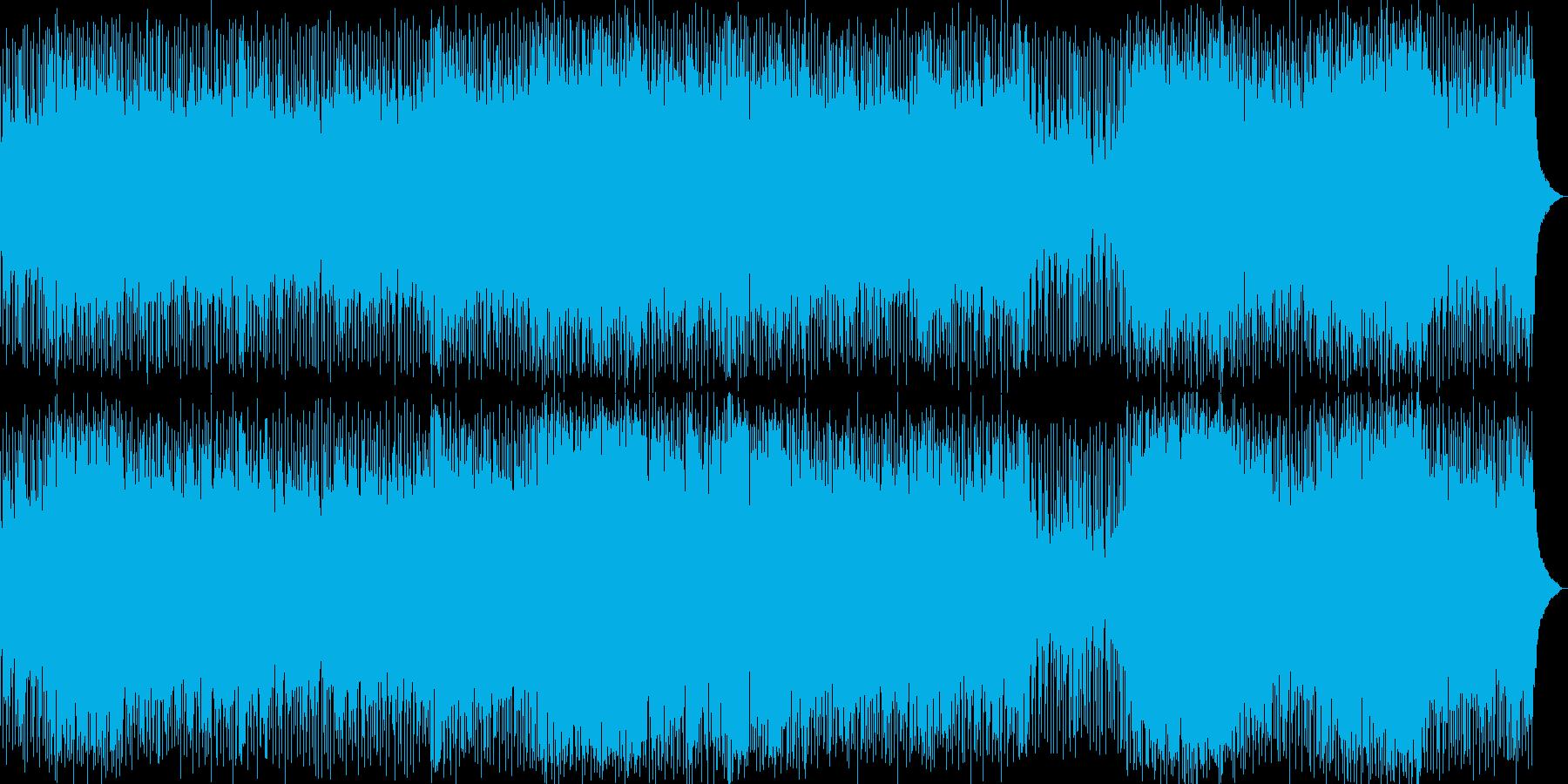元気が出るような明るいポップ・ロックの再生済みの波形