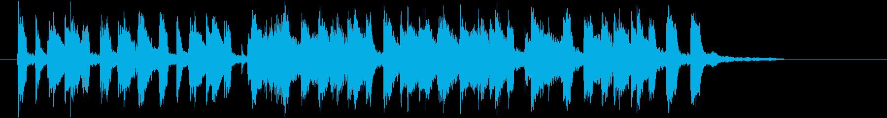 軽快でリズミカルなトランペットジングルの再生済みの波形