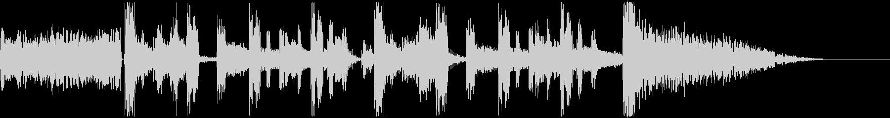 ラジオジングル、コーナー、場面転換の未再生の波形