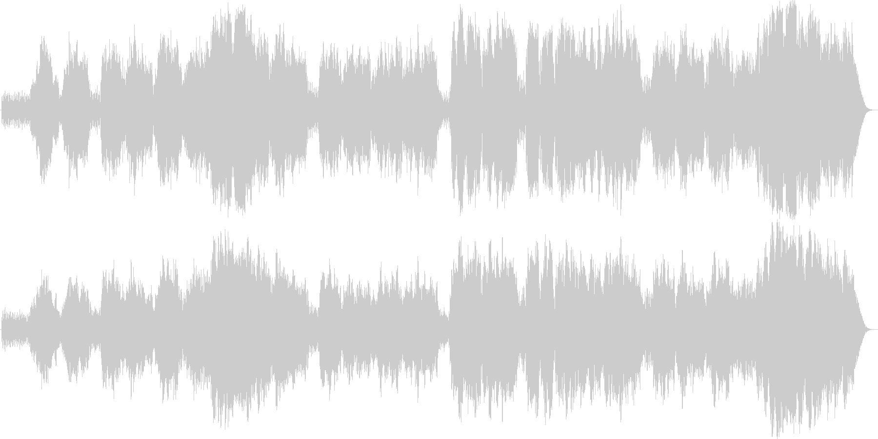 シチリアーノの未再生の波形