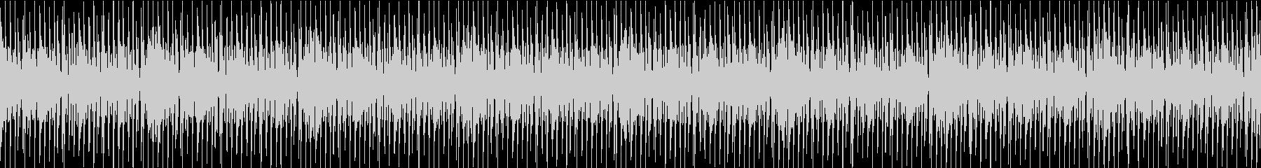 ロックでワイルドなリズムの未再生の波形