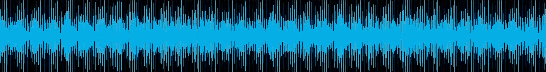 ロックでワイルドなリズムの再生済みの波形