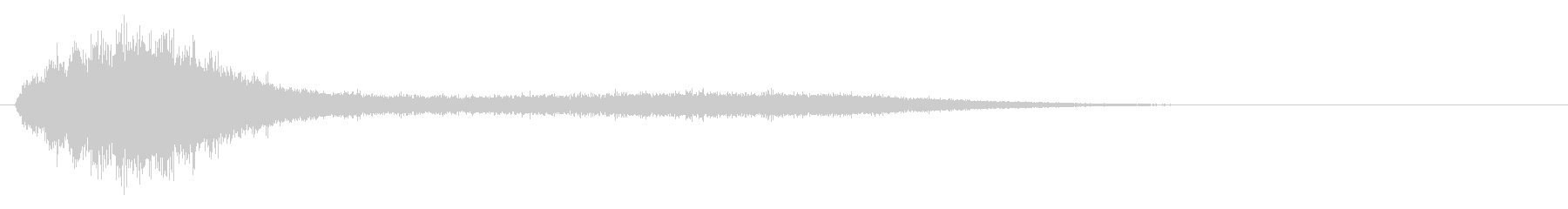 Sounds of chanting and activating magic #5's unreproduced waveform