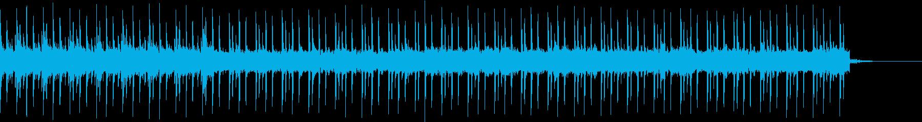 明るい迷宮不思議なラビリンスミュージックの再生済みの波形