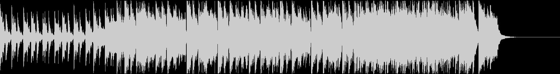 ほのぼのしたアコースティックBGMの未再生の波形