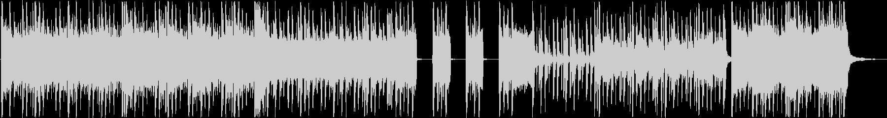 近代的なギターロックの未再生の波形