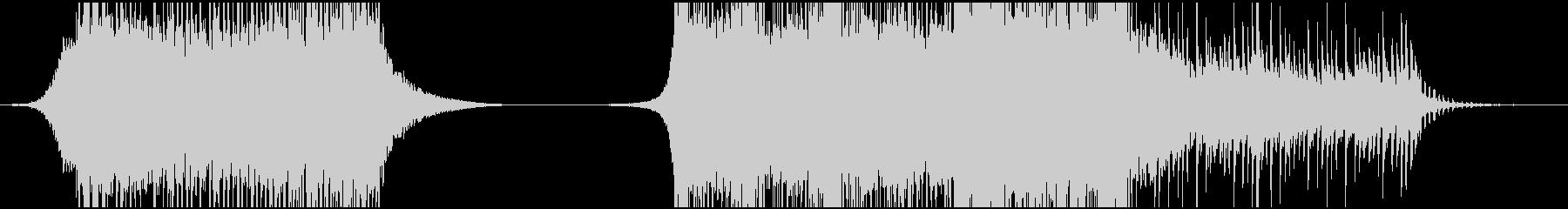 トレイラー系/壮大なハリウッドBGMの未再生の波形