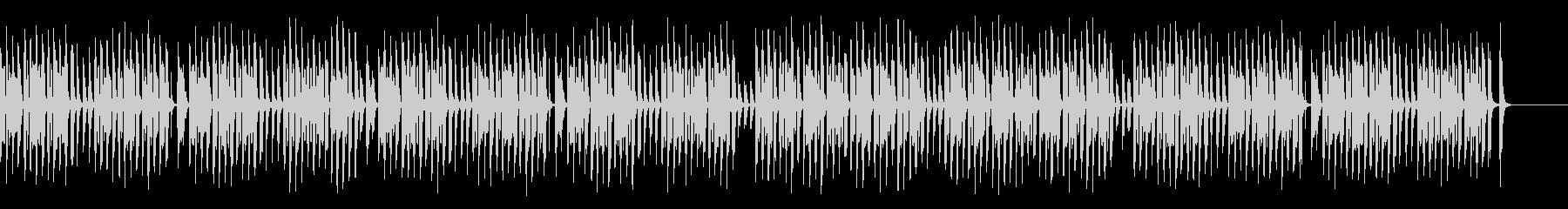 ペットや脱力系映像に合うリコーダーの未再生の波形