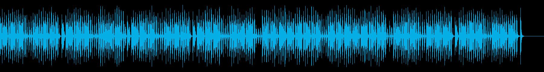ペットや脱力系映像に合うリコーダーの再生済みの波形