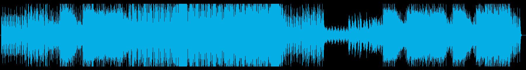 哀愁・峠道・ポップロック・ディレイ奏法の再生済みの波形