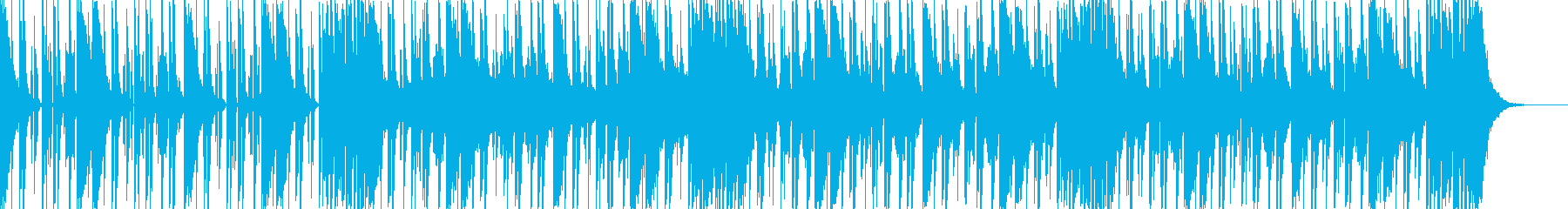 ダークなブラスとスクラッチヒップホップdの再生済みの波形