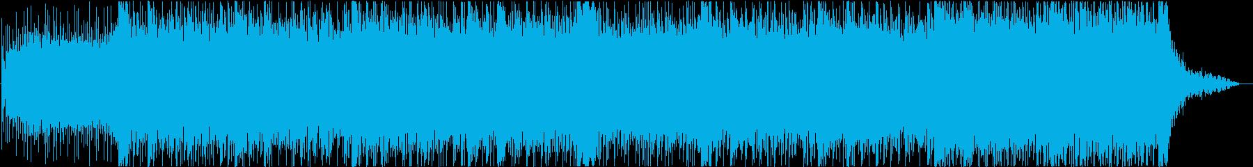 ダークで不思議な雰囲気のミステリー系劇伴の再生済みの波形