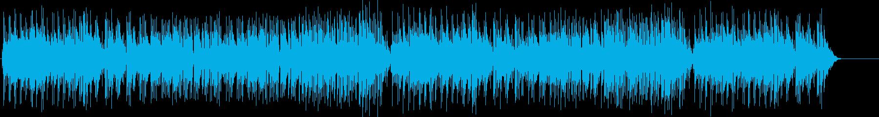切ない感動的なスローバラードの再生済みの波形