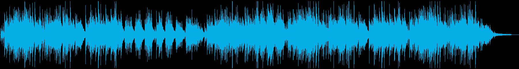 ピアノの旋律が優しくて切ないバラードの再生済みの波形