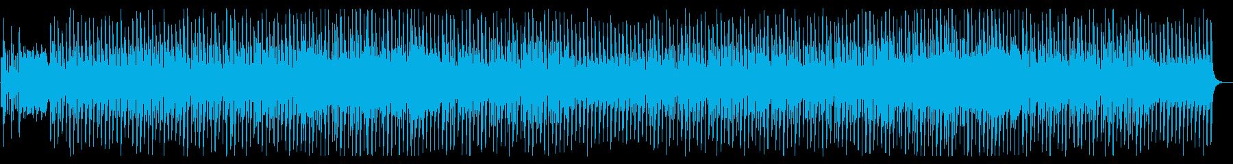 軽快でかわいい、コミカルなハロウィン曲の再生済みの波形