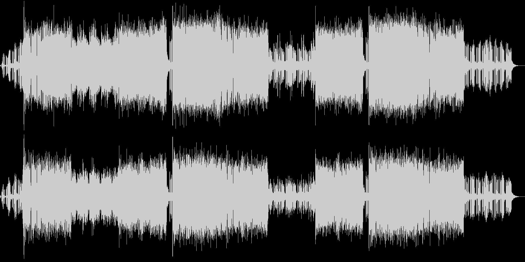 シンセが印象的なEDM系ロックの未再生の波形