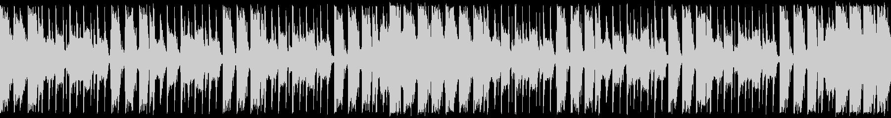 ダンスエクササイズBPM110:ショートの未再生の波形