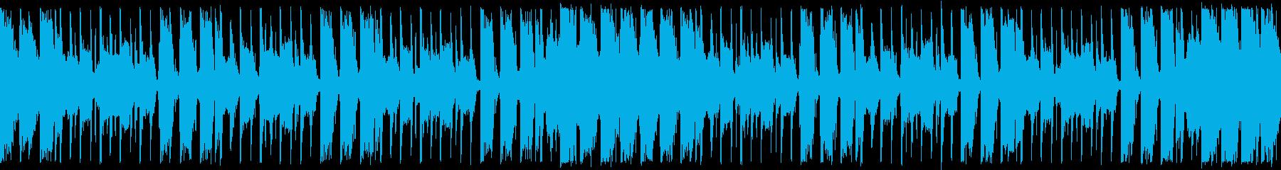 ダンスエクササイズBPM110:ショートの再生済みの波形