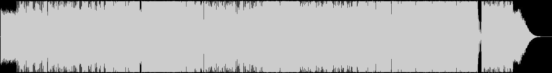 アマノジャクの未再生の波形
