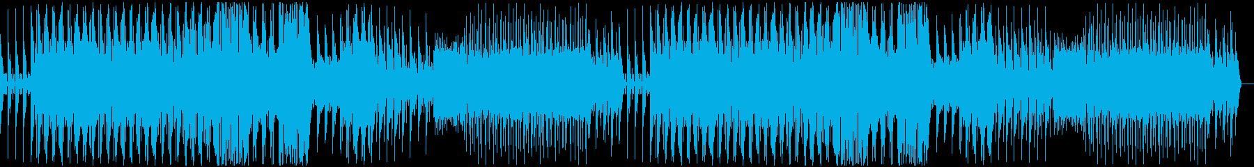 オリエンタル風なエレクトロサウンドの再生済みの波形