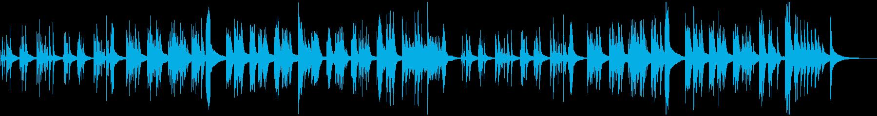 静かなピアノ・ソロ 森 木漏れ日の再生済みの波形