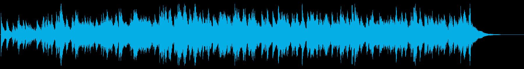 映画のエンドロール風、しっとりピアノ。の再生済みの波形