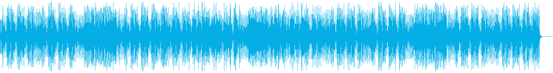 Light and cheerful violin gypsy jazz's reproduced waveform