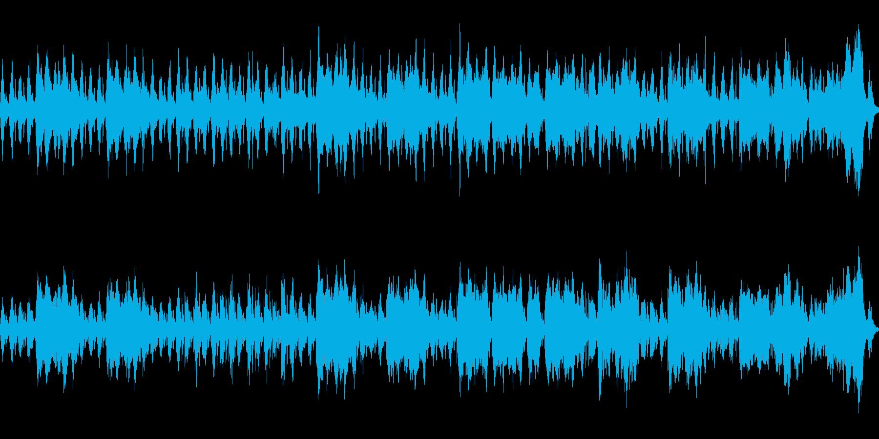 お化け・洋館 不気味ヴァイオリン ループの再生済みの波形