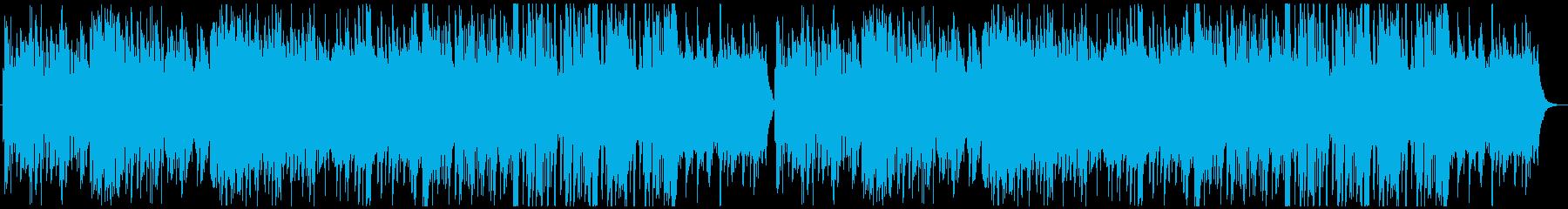 ファンシー&軽快なオーケストラの再生済みの波形