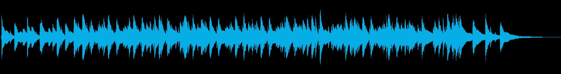 ゆったり落ち着いたピアノジャズの再生済みの波形