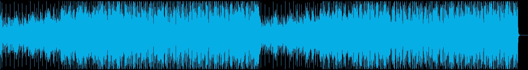 HipHop BGM ループ お洒落系の再生済みの波形