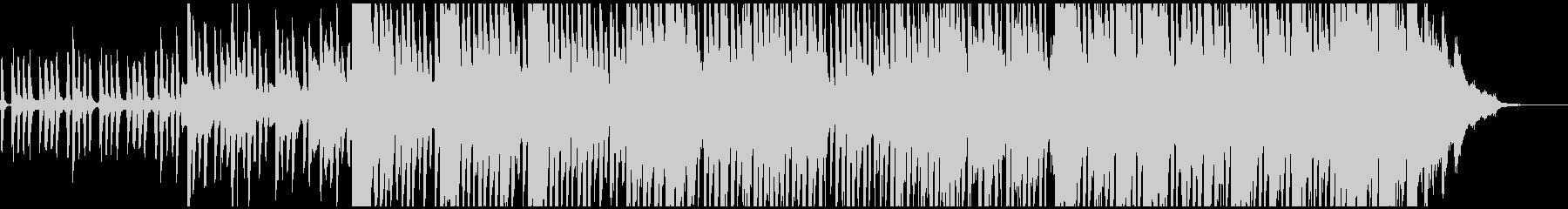 遊び心を持ち合わせた上品なピアノレトロの未再生の波形