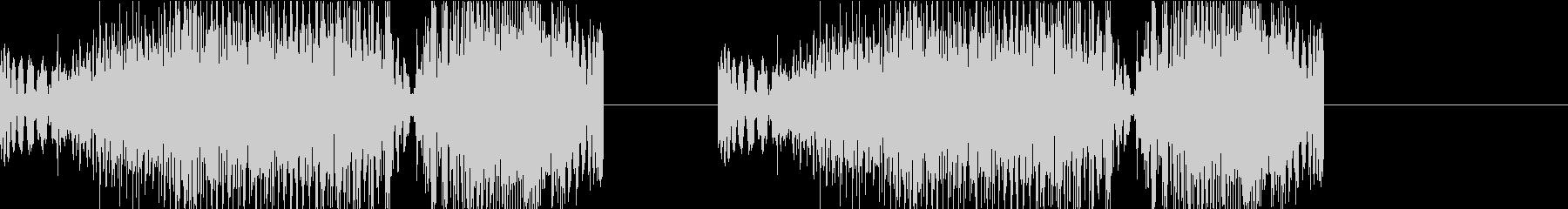 DJプレイ スクラッチ・ノイズ 313の未再生の波形