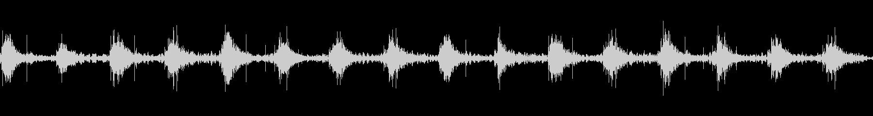 足音 行進の音(軍隊、兵隊、大人数等)5の未再生の波形
