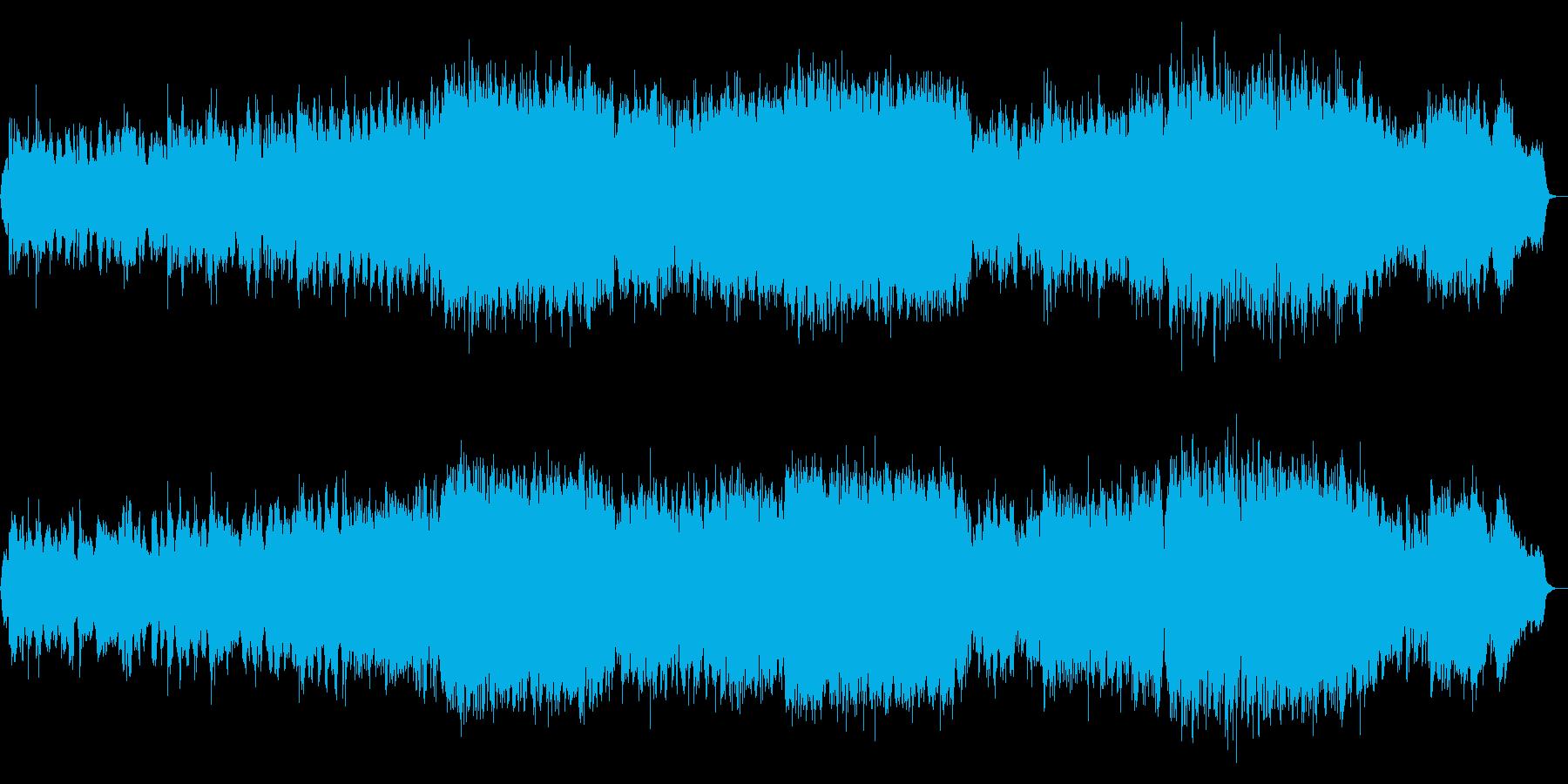 生演奏!二胡の東洋風で雅な癒される和風曲の再生済みの波形