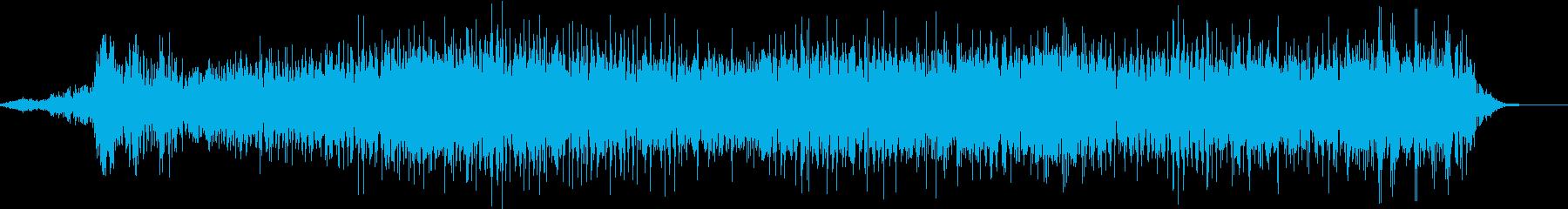 「えええええ」デスボイス(高い声)の再生済みの波形