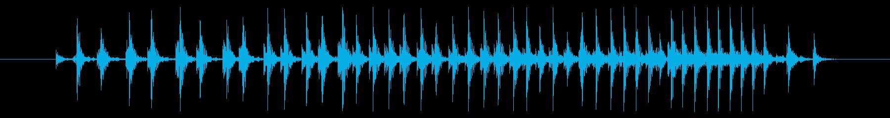 鳴き声 バープロング01の再生済みの波形