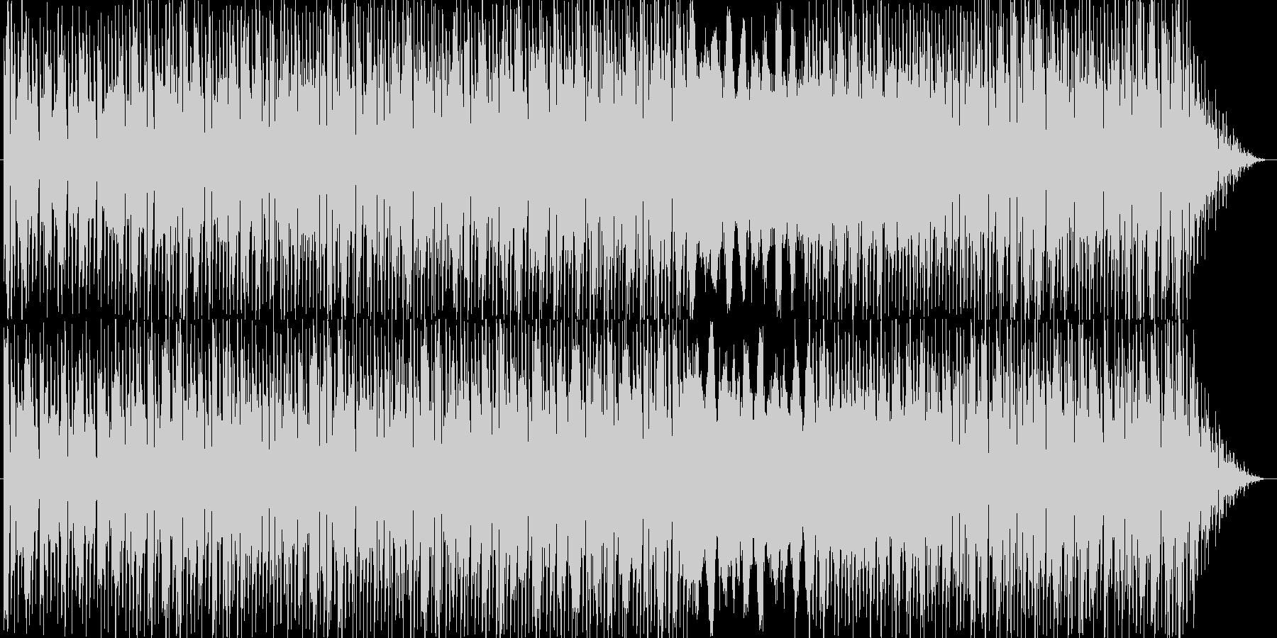 ポジティブで力強いイメージのエレクトロ…の未再生の波形