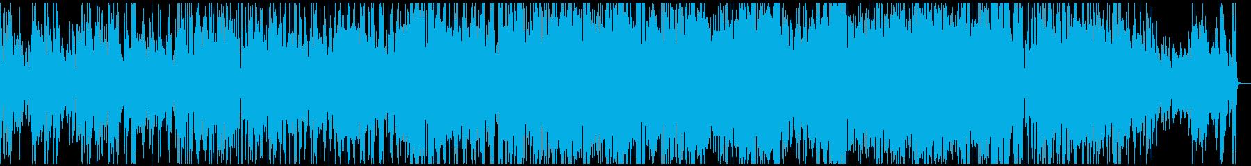 熱いの再生済みの波形