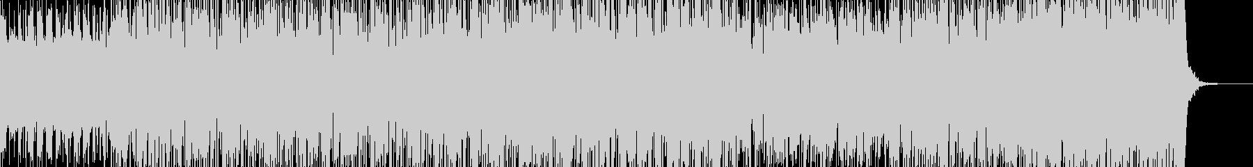 バトル:コミカルなテクノレイヴ60秒の未再生の波形