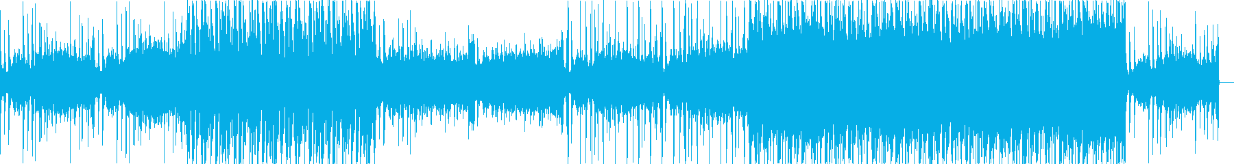 Electro, fashionable, mature's reproduced waveform