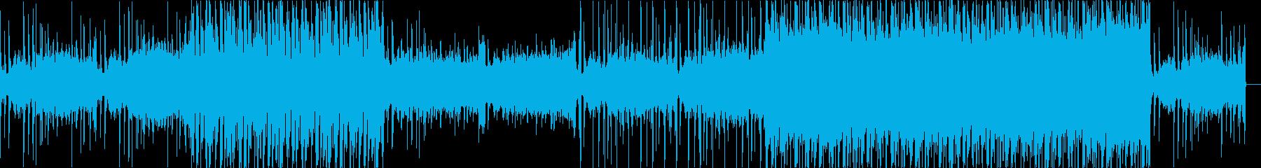 エレクトロ、おしゃれ、大人っぽいの再生済みの波形